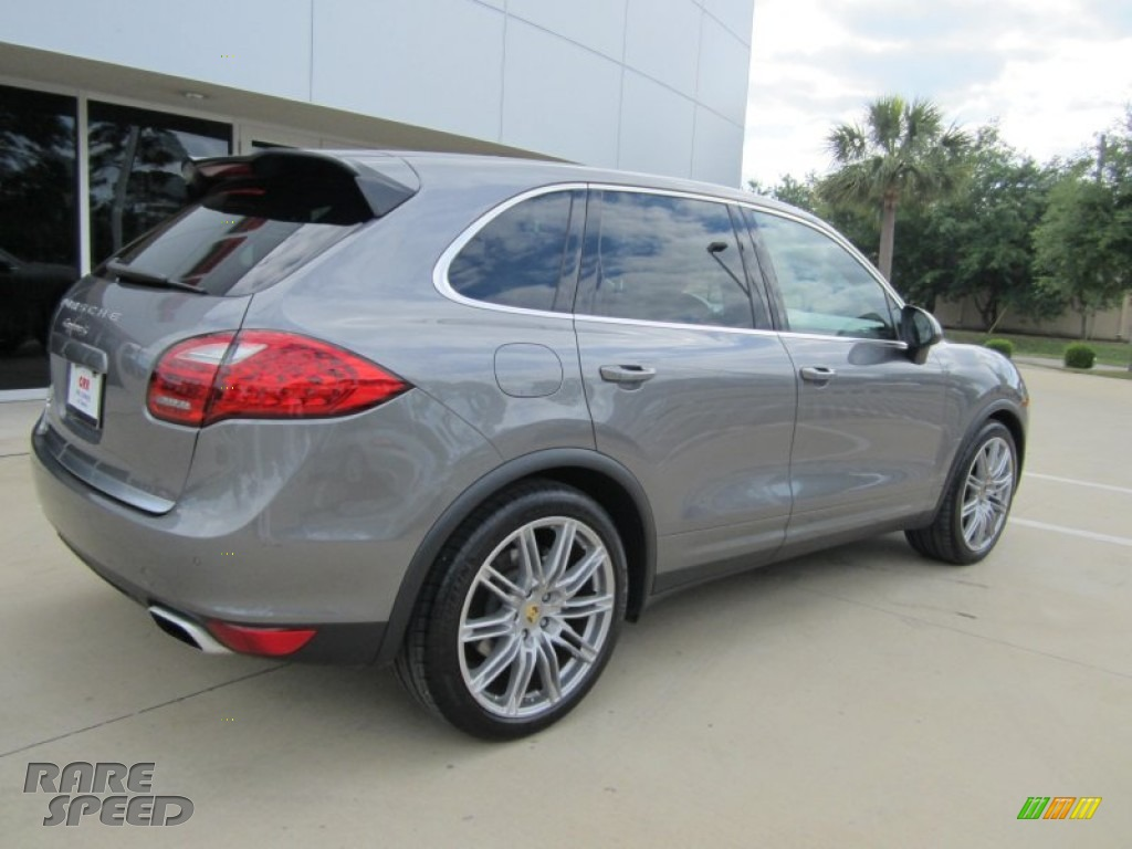 2011 Porsche Cayenne S In Meteor Grey Metallic Photo 12