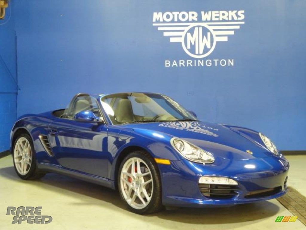 2009 porsche boxster s in aqua blue metallic photo 22 for Motor werks barrington used cars