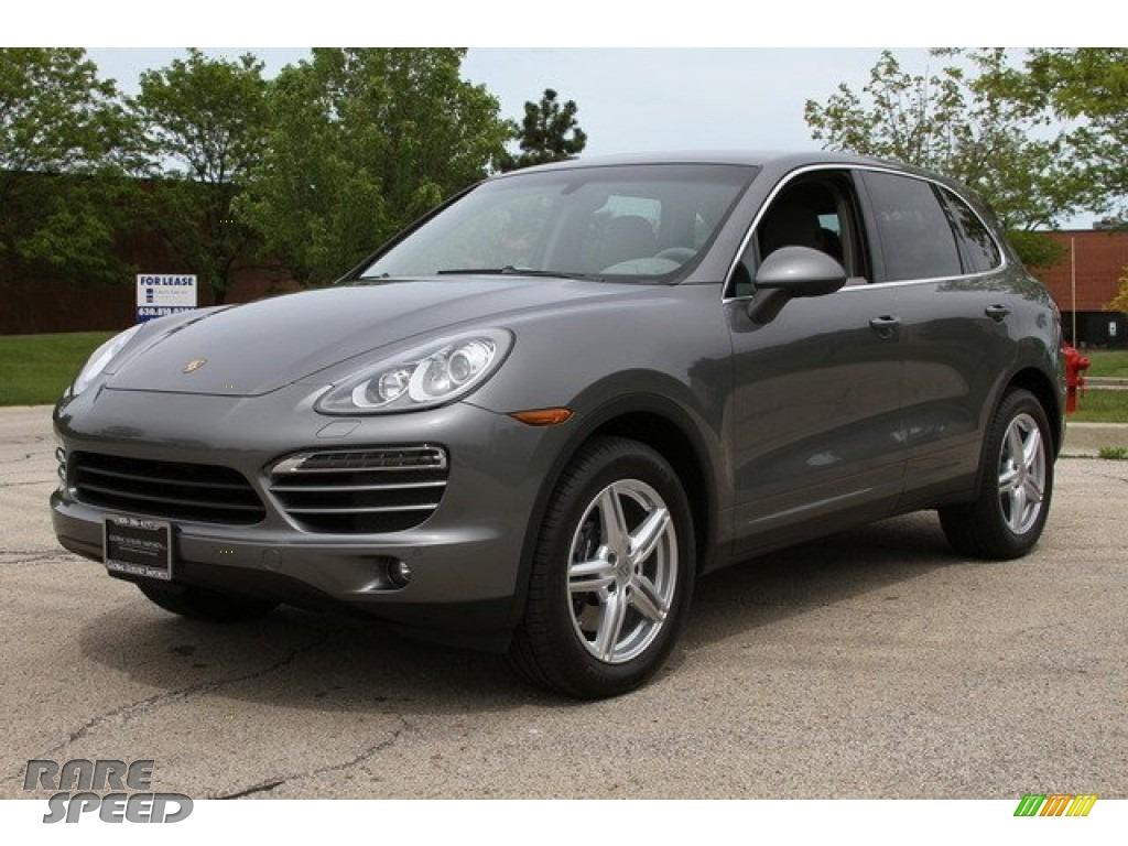 2012 Porsche Cayenne In Meteor Grey Metallic Photo 5