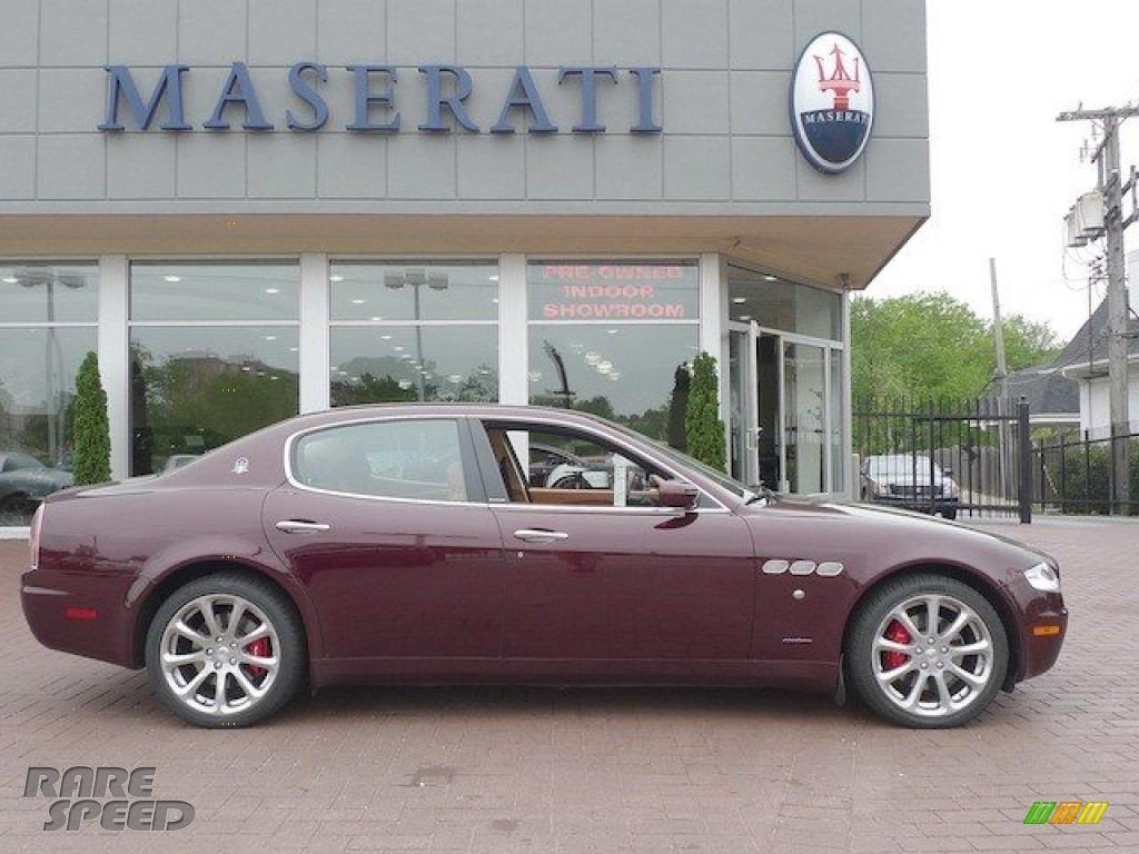 2007 Maserati Quattroporte In Bordeaux Pontevecchio Dark