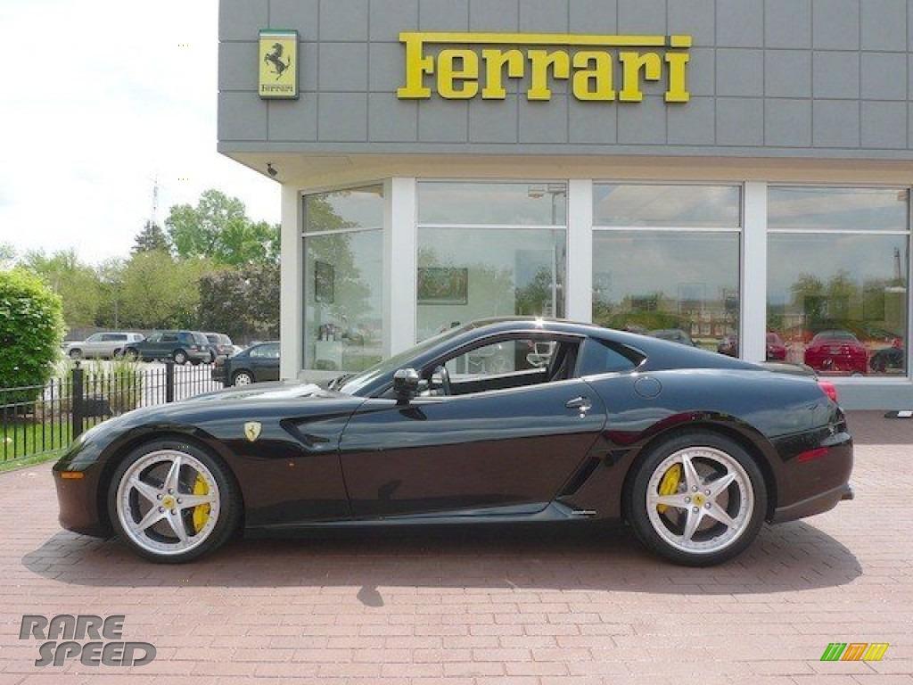 2009 Ferrari 599 Gtb Fiorano Hgte In Nero Black Photo
