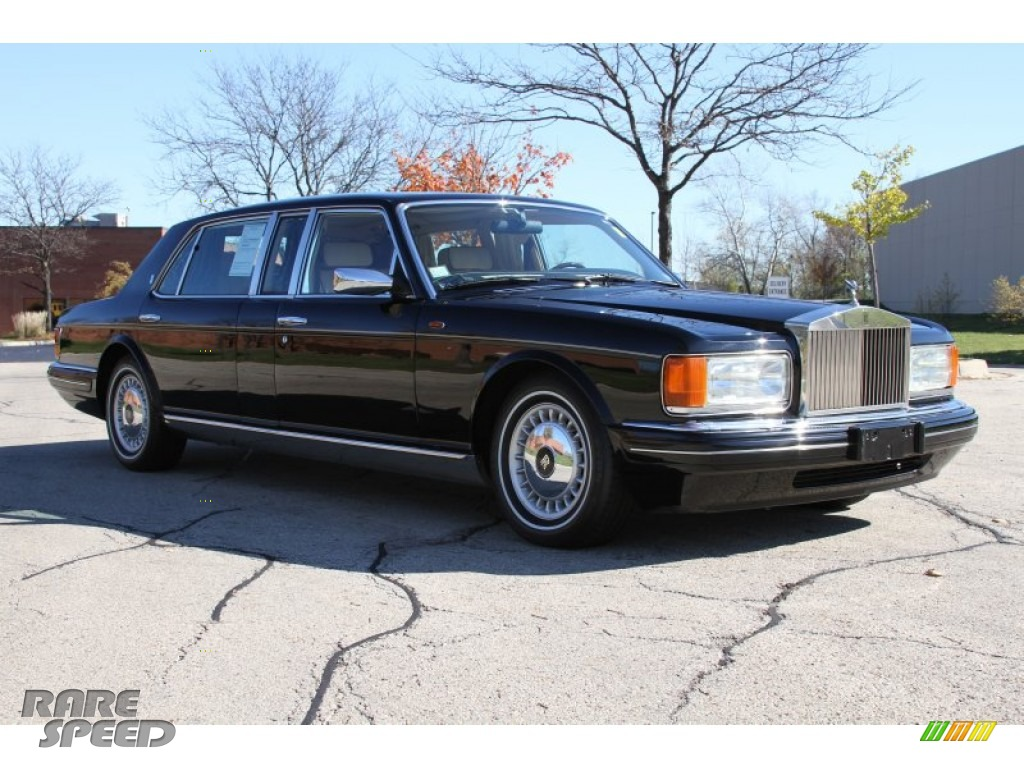 1998 Rolls Royce Silver Spur Park Ward Limousine In Black