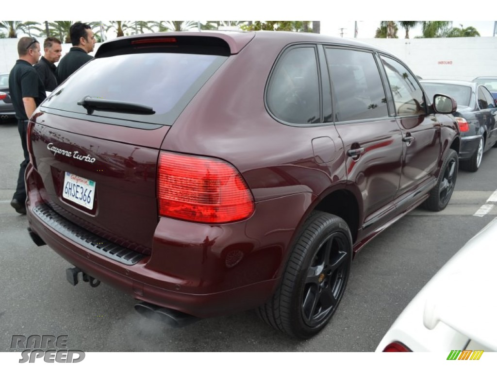 2006 Porsche Cayenne Turbo S In Carmon Red Metallic Photo