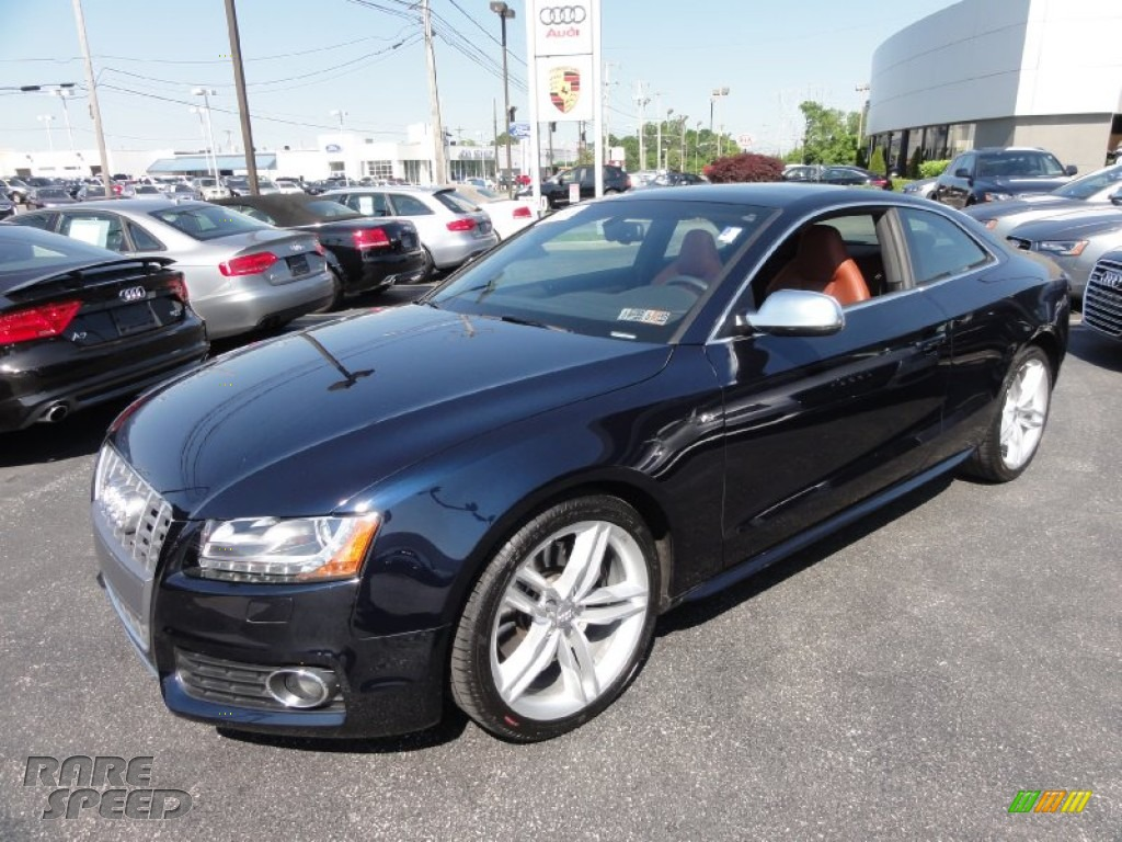 2011 Audi S5 4 2 Fsi Quattro Coupe In Deep Sea Blue Pearl