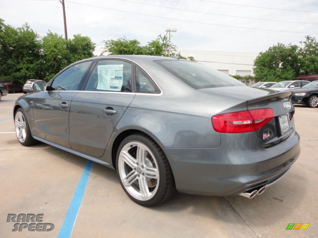 2013 Audi S4 3 0t Quattro Sedan In Monsoon Gray Metallic