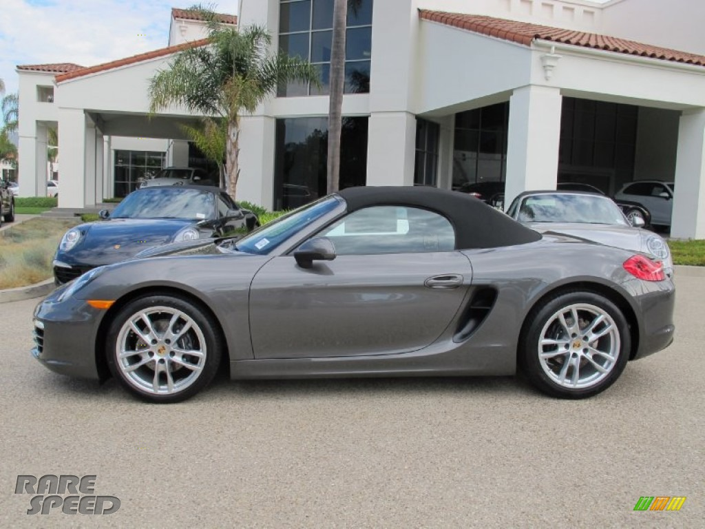 2013 Porsche Boxster In Agate Grey Metallic Photo 2