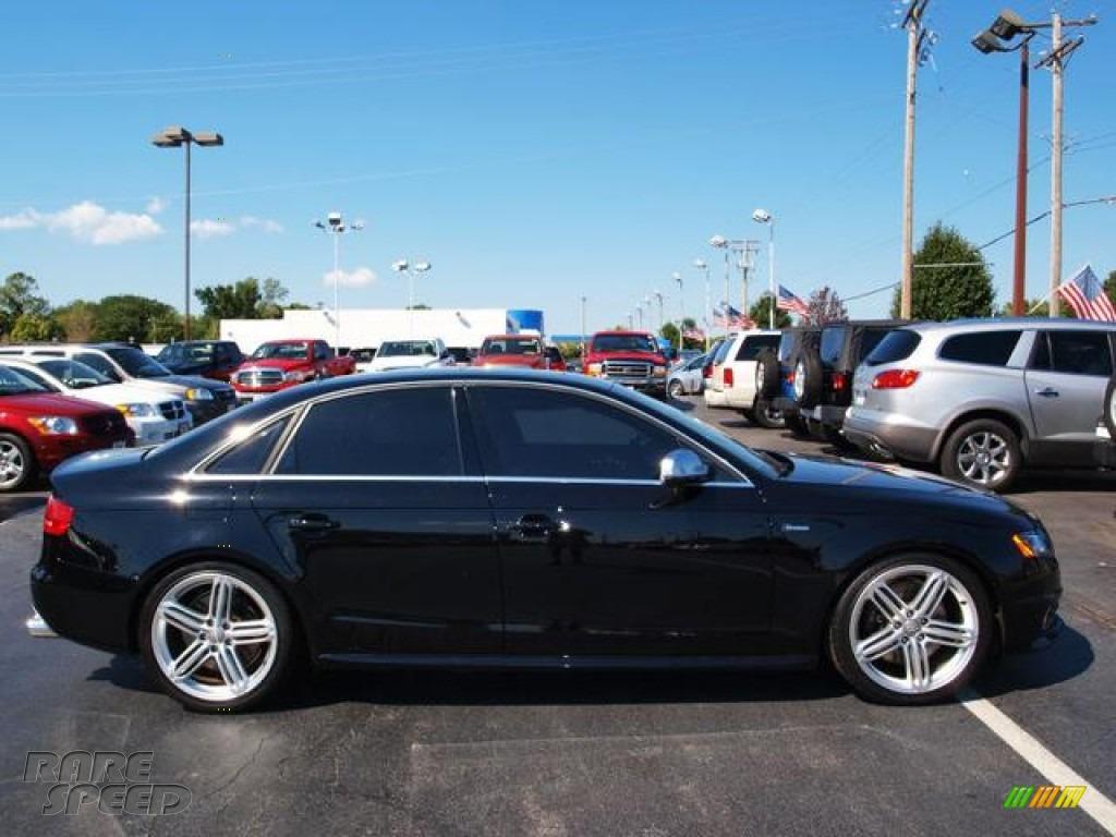 2011 Audi S4 3 0 Quattro Sedan In Phantom Black Pearl Effect 153670 Rarespeed Com