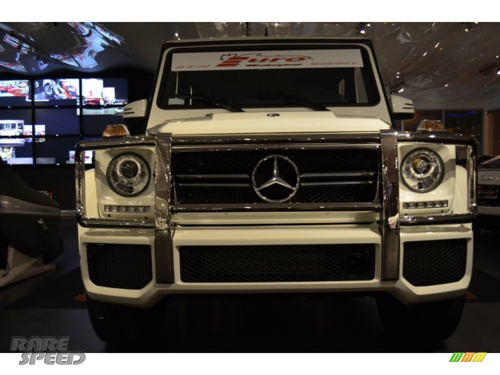 2013 mercedes benz g 63 amg in arctic white photo 2 for Simonson mercedes benz