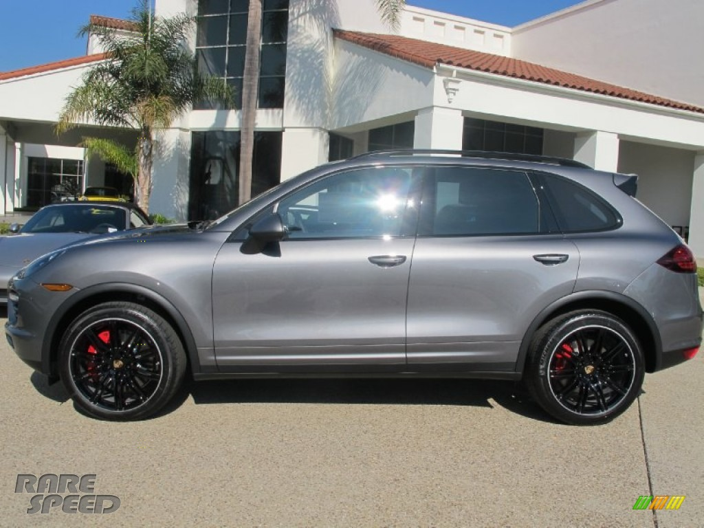 2013 Porsche Cayenne Turbo In Meteor Grey Metallic Photo