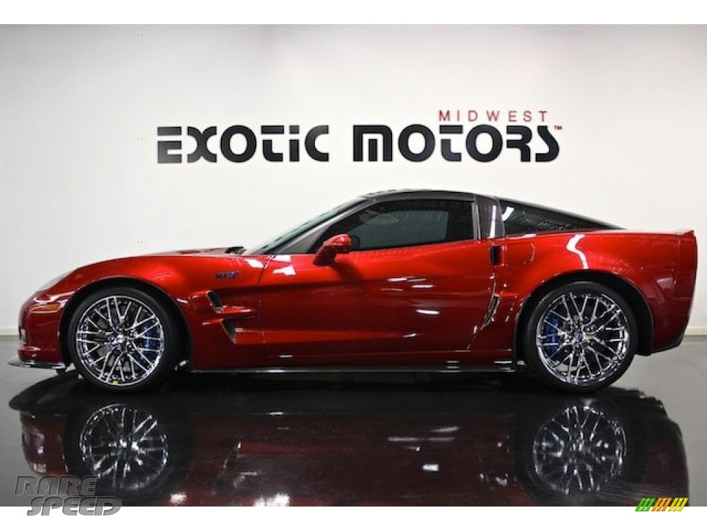 2011 Chevrolet Corvette Zr1 In Crystal Red Tintcoat