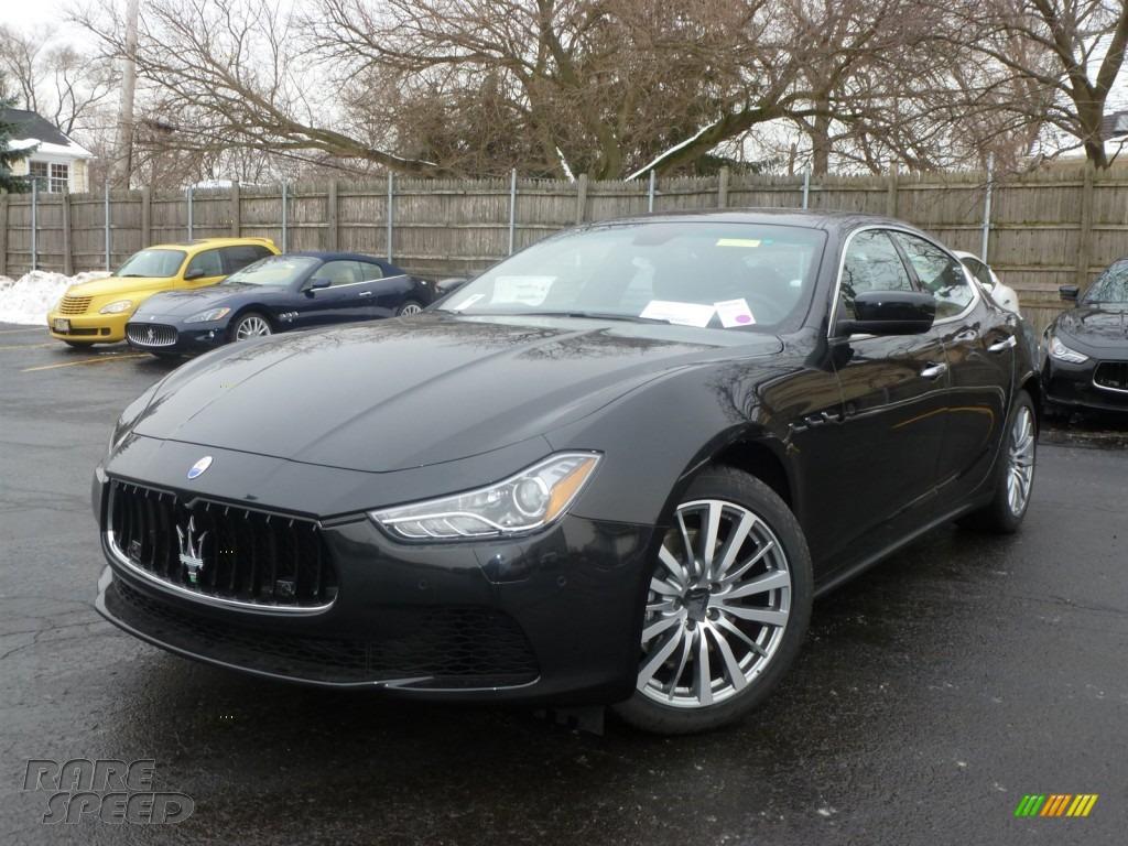 2014 Maserati Ghibli In Nero Ribelle Black Metallic