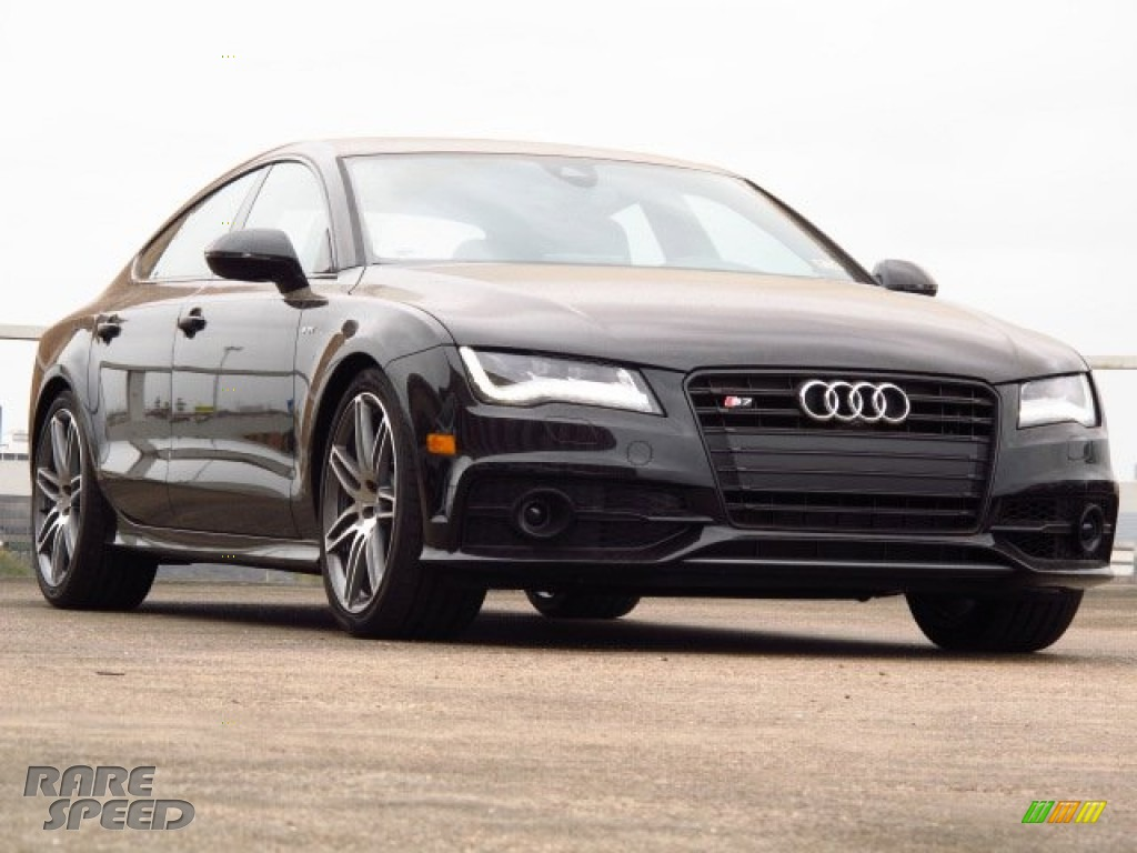 Audi s7 Black Optic Package 2014 Audi a7 Black Optic