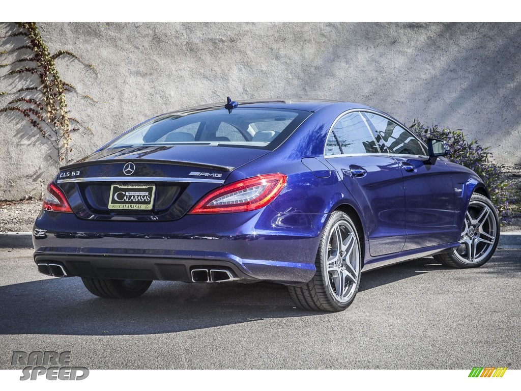 2012 mercedes benz cls 63 amg in designo mystic blue photo for Simonson mercedes benz
