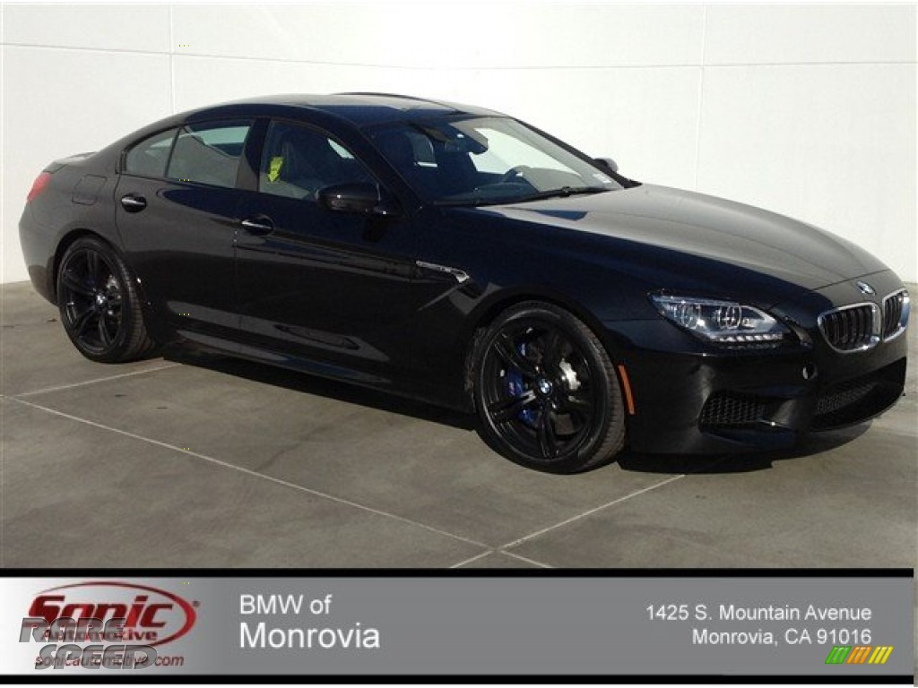 2014 Bmw M6 Gran Coupe In Black Sapphire Metallic 467359 Rarespeed Com