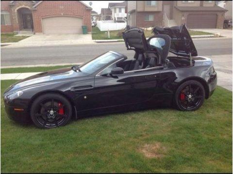 Jet Black 2007 Aston Martin V8 Vantage