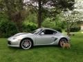 Porsche Cayman S Arctic Silver Metallic photo #1