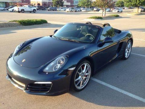 Dark Blue Metallic 2013 Porsche Boxster