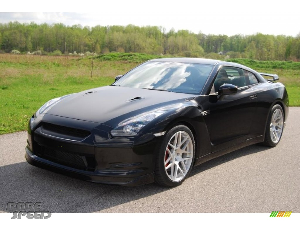 2009 GT-R Premium - Black Obsidian / Black photo #1