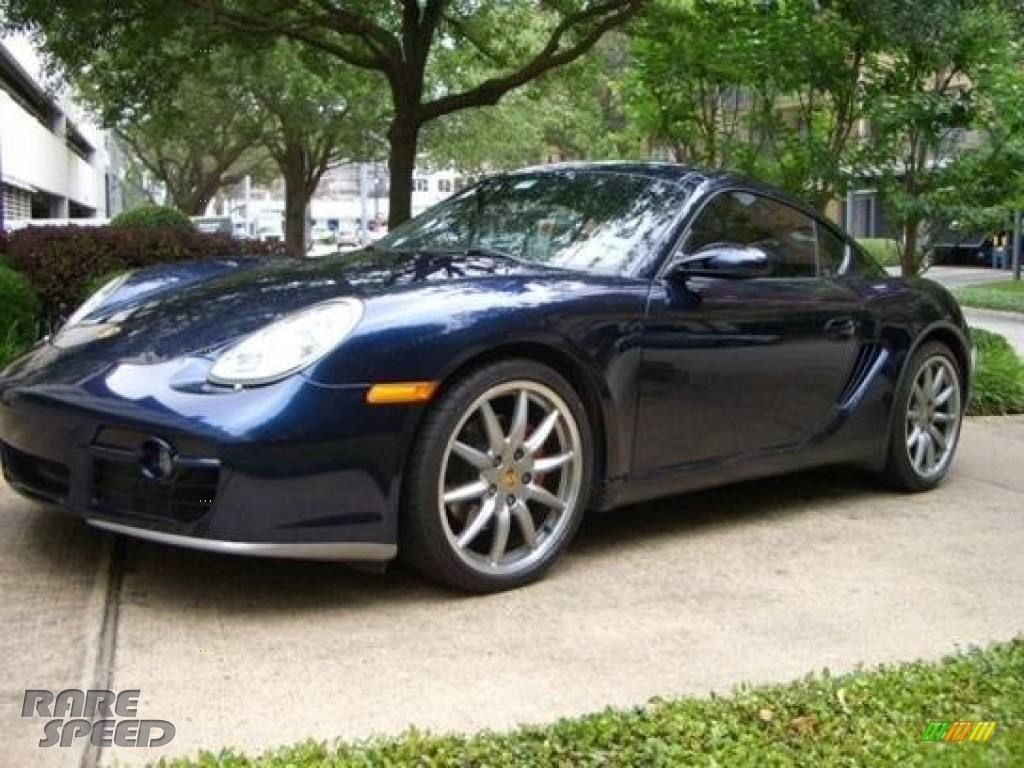 2006 Cayman S - Midnight Blue Metallic / Stone Grey photo #1
