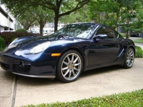 Midnight Blue Metallic 2006 Porsche Cayman S