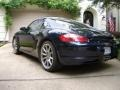 Porsche Cayman S Midnight Blue Metallic photo #3