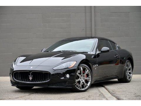 Nero (Black) 2012 Maserati GranTurismo S Automatic