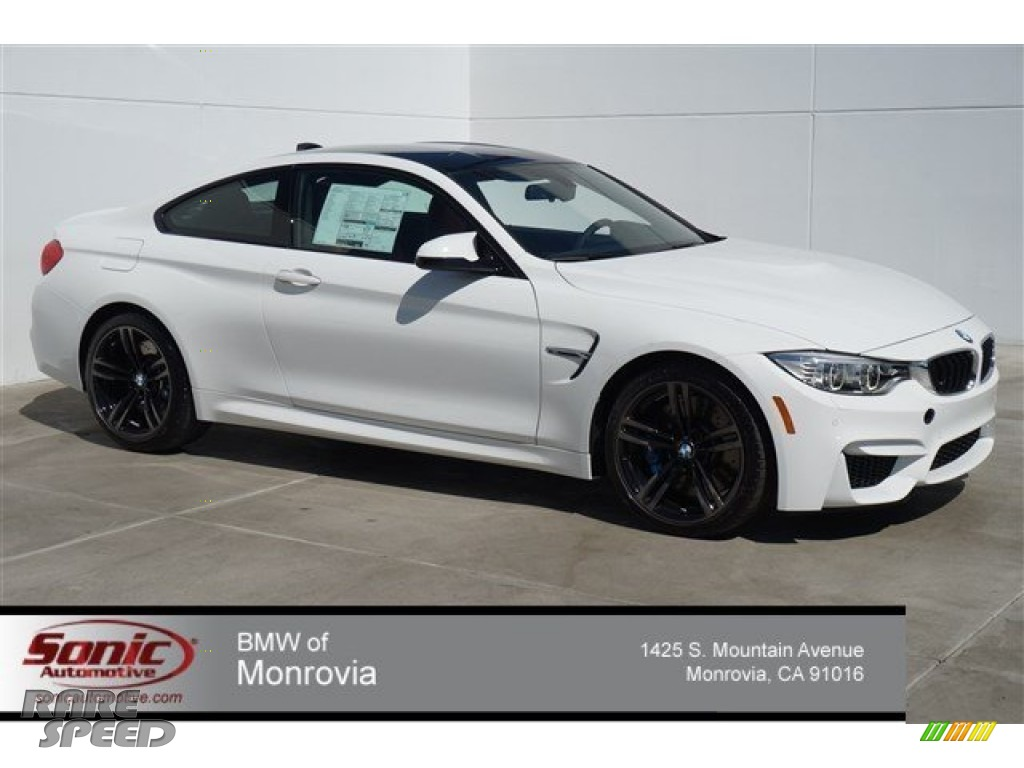 2015 Bmw M4 Coupe In Alpine White 330111 Rarespeed Com
