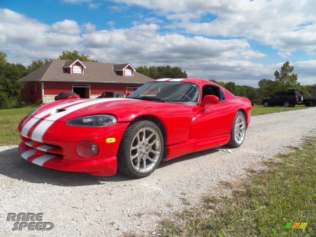 1997 Dodge Viper Gts In Viper Red 302543 Rarespeed Com