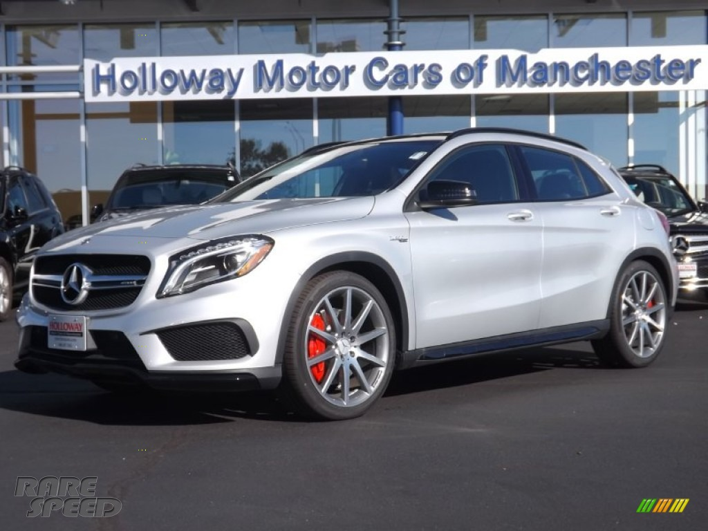 2015 mercedes benz gla 45 amg 4matic in polar silver for Holloway motor cars manchester
