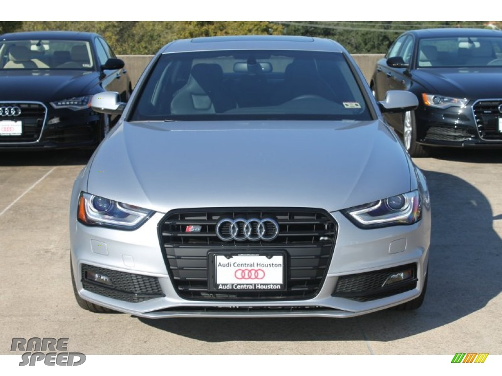 2015 S4 Premium Plus 3.0 TFSI quattro - Florett Silver Metallic / Black photo #2
