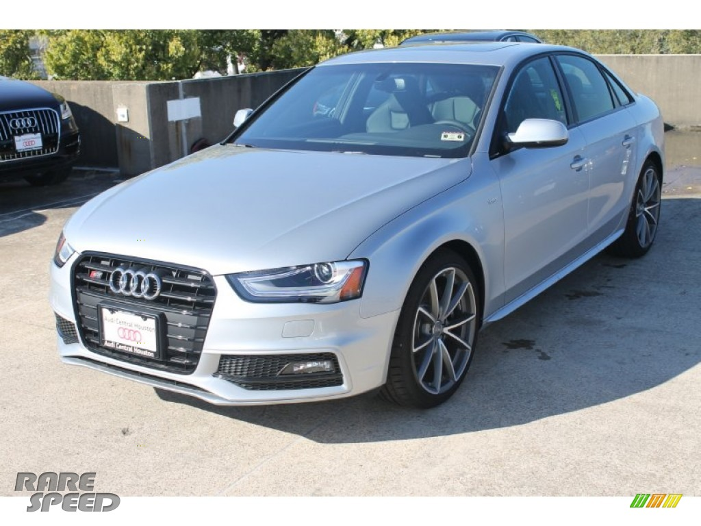 2015 S4 Premium Plus 3.0 TFSI quattro - Florett Silver Metallic / Black photo #3